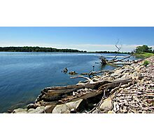 Shores of Kettle Lake Photographic Print