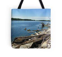 Shores of Kettle Lake Tote Bag