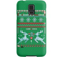 Game Over - 8-bit Ugly Christmas Sweater Samsung Galaxy Case/Skin