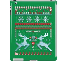 Game Over - 8-bit Ugly Christmas Sweater iPad Case/Skin