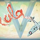 Spitfire Skywriting by James Tuer