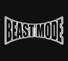 Beast Mode (white ink) Workout Tee. Crossfit Tee. Exercise Tee. Weightlifting Tee. Running Tee. Fitness by Max Effort