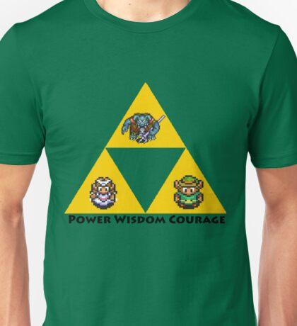 Zelda-Triforce Alternate Link Unisex T-Shirt