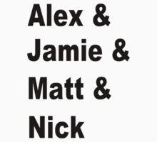 Alex & Jamie & Matt & Nick by pandagoo