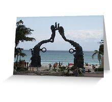 Statues of Mexico Greeting Card