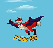 Flying Fox-Red by RedDragon1989