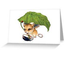 Jimmy Jeroba Greeting Card