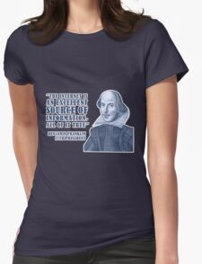 Franklin Internet Quote Womens Fitted T-Shirt