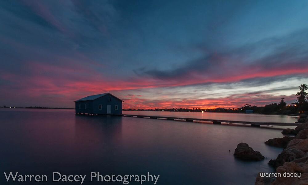 crawley bay sunset  by warren dacey