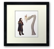 Dragon's Fire Framed Print