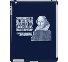 Franklin Internet Quote iPad Case/Skin