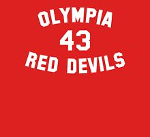 Olympia Red Devils - #43 - White Text Unisex T-Shirt