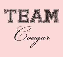 Team Cougar (black ink) by Max Effort