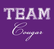 Team Cougar (white ink) by Max Effort