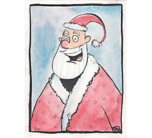 Santa Portrait  Photographic Print