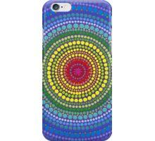 Rainbow Orb of chakra balance iPhone Case/Skin