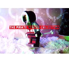 The pirate winter collection - skiing. Photographic Print