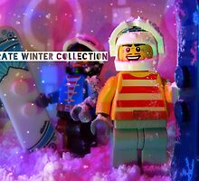 The pirate winter collection - snowboarding. by bricksailboat