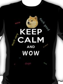 Keep Calm and DOGE T-Shirt