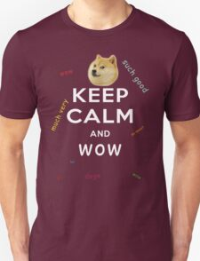 Keep Calm and DOGE Unisex T-Shirt