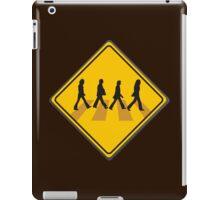 Abbey Road Crossing iPad Case/Skin
