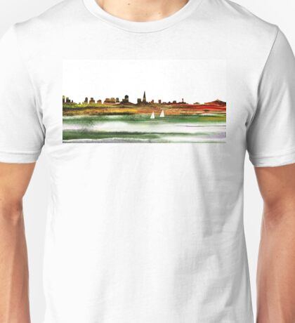 San Francisco City Skyline Unisex T-Shirt