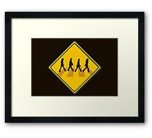 Abbey Road Crossing Framed Print