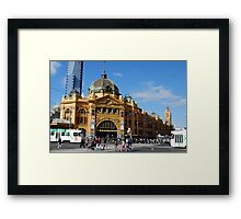 Goundhog Melbourne Framed Print