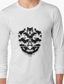 Bastille Dan Inkblot Long Sleeve T-Shirt