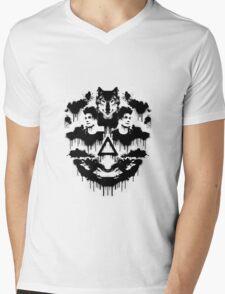 Bastille Dan Inkblot Mens V-Neck T-Shirt