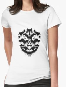 Bastille Dan Inkblot Womens Fitted T-Shirt