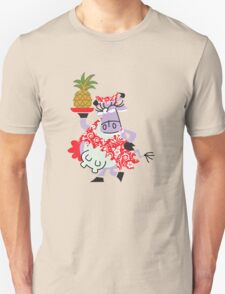 Cool Cow Love's A Pineapple!!! T-Shirt
