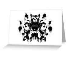 Bastille Kyle Inkblot Greeting Card