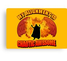 Chaotic Awesome Canvas Print