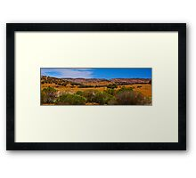 Flinders Ranges Pano Framed Print