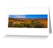 Flinders Ranges Pano Greeting Card