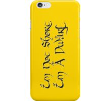 I'm A Dwarf iPhone Case/Skin