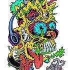 Toxic Bart by ghostfreehood