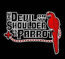 Shoulder Devil Parrot by RoamingGeek