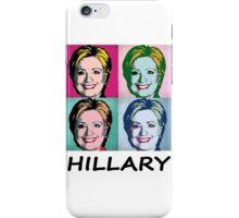 Hillary Clinton for president  -  Pop-Art Design iPhone Case/Skin