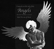 Sherlock Holmes on Side of the Angels by kristiemarie