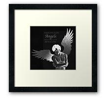 Sherlock Holmes on Side of the Angels Framed Print