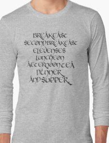 Elevenses Long Sleeve T-Shirt