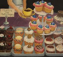Muffins with Plastic Surgery by Mallory Zondag