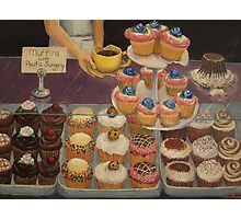 Muffins with Plastic Surgery Photographic Print
