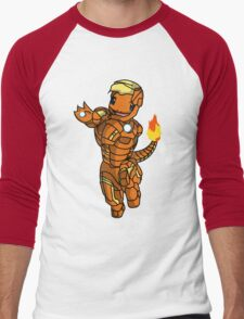 Iron-Charmander Men's Baseball ¾ T-Shirt