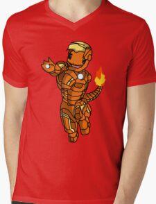 Iron-Charmander Mens V-Neck T-Shirt