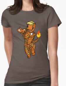 Iron-Charmander Womens Fitted T-Shirt