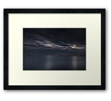 Concrete Sea Framed Print