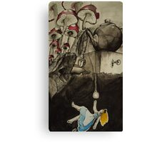 Alice in Nowhere Land Canvas Print